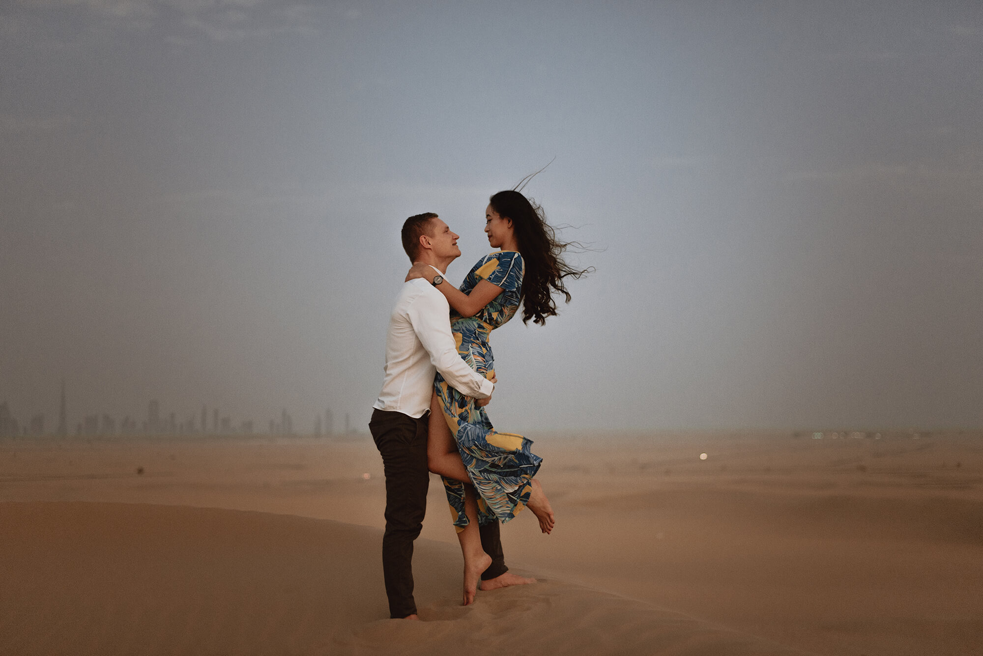 Sesja narzeczenska Dubaj - Miłość