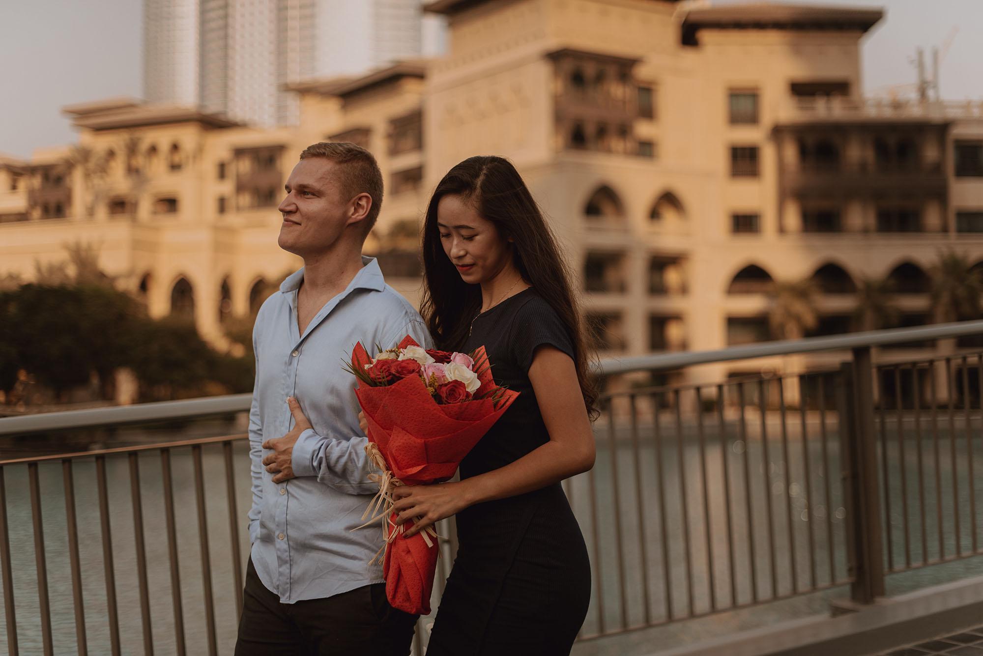 Sesja narzeczenska w Dubaju00009 - Polsko-indonezyjska miłość