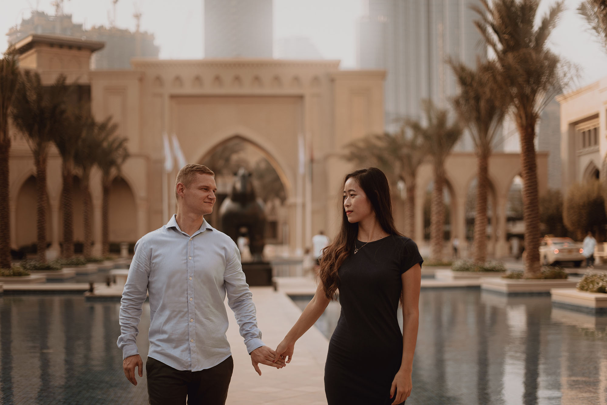 Sesja narzeczenska w Dubaju00014 - Polsko-indonezyjska miłość