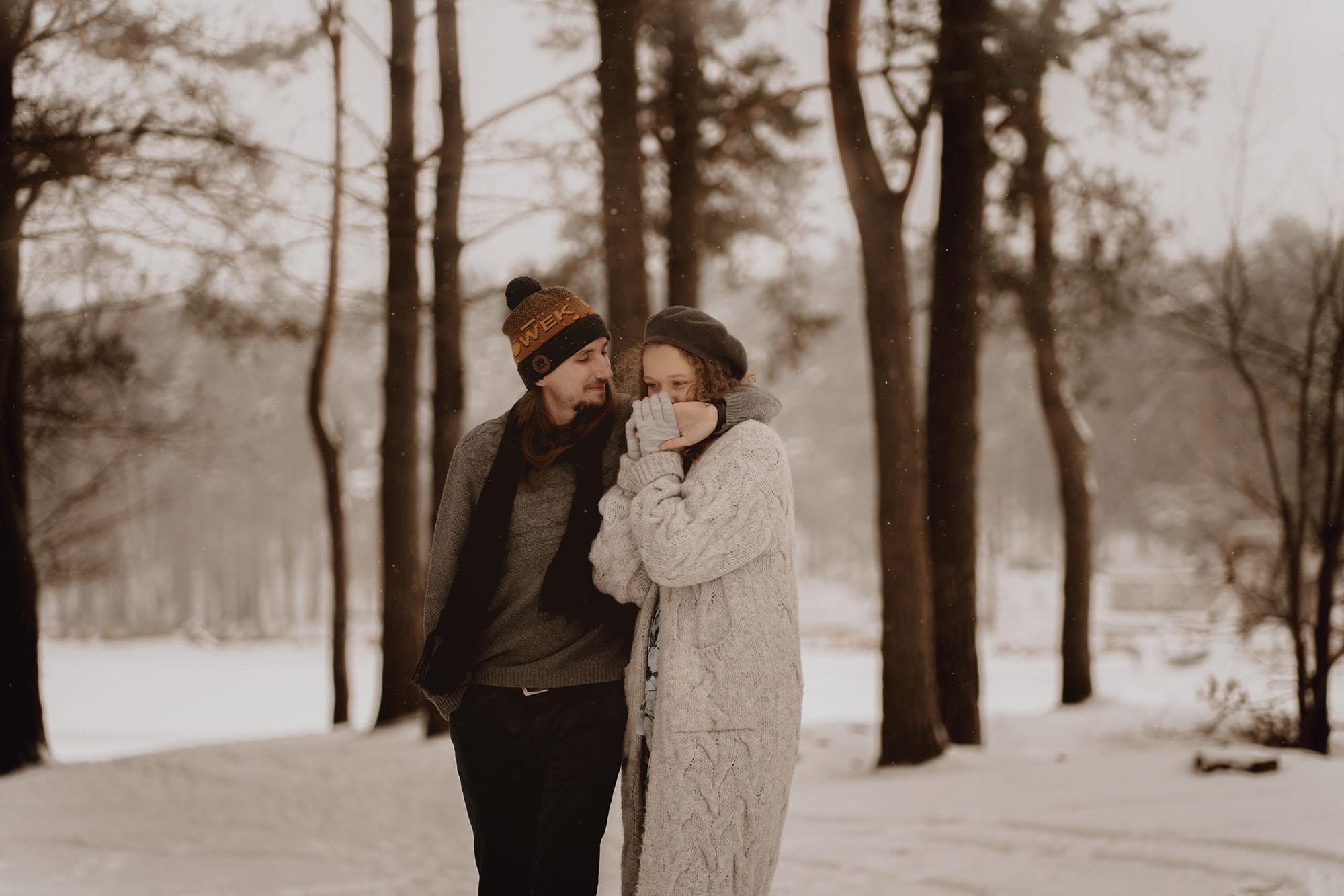 zimowa sesja narzeczenska00001 - Miłość