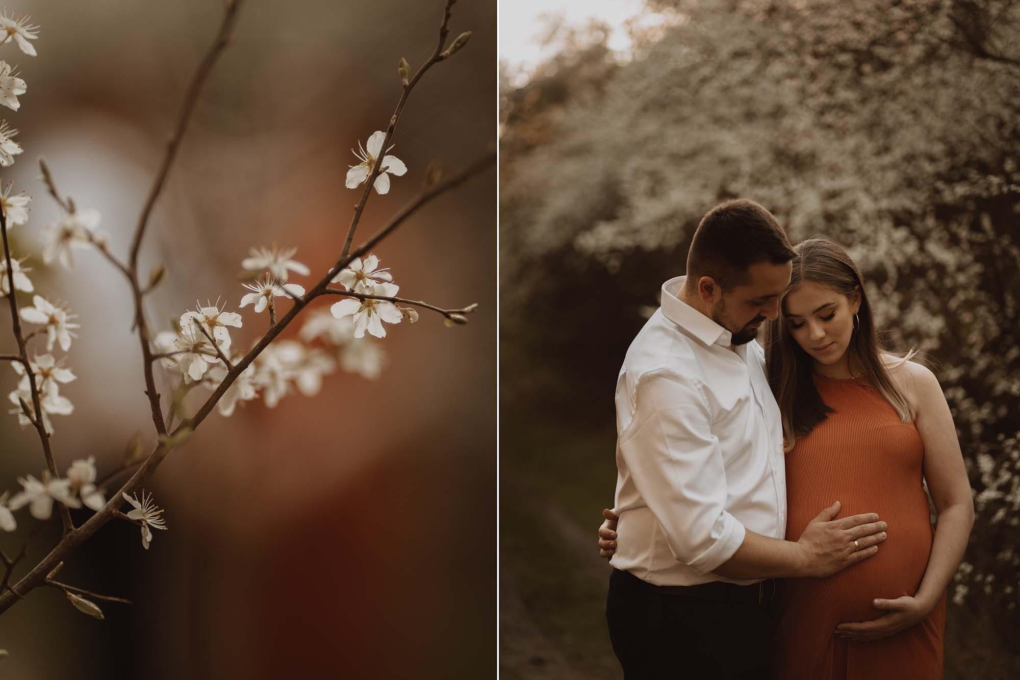 Wiosenna sesja ciazowa kielce00008 - Wiosenna sesja ciążowa